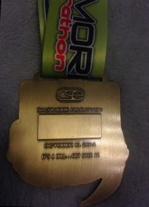 Baltimore Marathon Medal